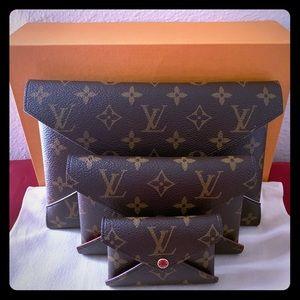 ❌SOLD❌ Louis Vuitton Kirigami Pochette In Monogram